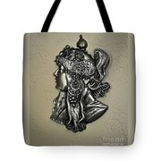 Alphonse Mucha 1860-1939 New Profile Tote Bag
