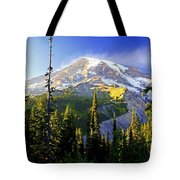 Alpine Glow 2 Tote Bag by Marty Koch