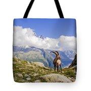 Alpine Ibex Tote Bag
