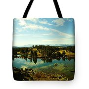 Alpine Lake Off The Beartooth Highway Tote Bag