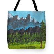 Alpine Meadow Tote Bag