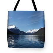 Alpine Mirror Tote Bag