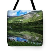 Alpine Reflections Tote Bag
