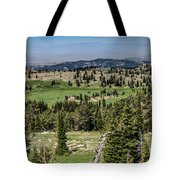 Alpine View Tote Bag