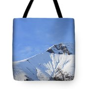 Alps Vista  Tote Bag
