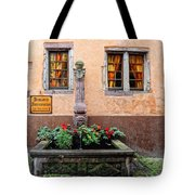 Alsace Fountain Tote Bag