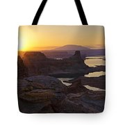 Alstrom Point Sunrise  Tote Bag