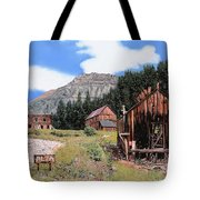 Alta In Colorado Tote Bag by Guido Borelli