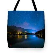 Alta Lake Lights Tote Bag