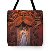 Altar And Madonna Tote Bag