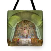 Altar In An Old Chapel Tote Bag