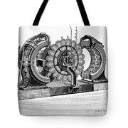 Alternating-current Dynamo Tote Bag
