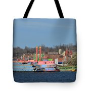 Alton Belle Casino Tote Bag by Peggy Franz