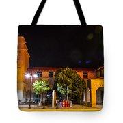 Alvarado Transportation Center Night Tote Bag