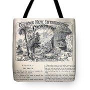 am t 24 colton climate vignettes R Tote Bag