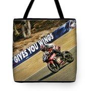 Ama Superbike Cory West Tote Bag