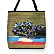 Ama Superbike Josh Jayes From Above Tote Bag