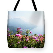 Amalfi Coast View From Ravello Italy  Tote Bag