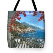 Amalfi Vista Tote Bag