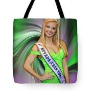 Amanda Jenkins Nevada Teen Usa Tote Bag