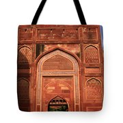 Amar Singh Gate Red Fort Agra  Tote Bag
