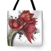 Amaryllis Flowers - 2. -  Elena Yakubovich Tote Bag
