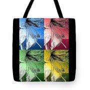 Amaryllis Pop Art Tote Bag
