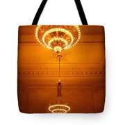 Amazing Antique Chandelier - Grand Central Station New York Tote Bag