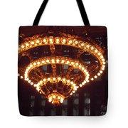 Amazing Art Nouveau Antique Chandelier - Grand Central Station New York Tote Bag