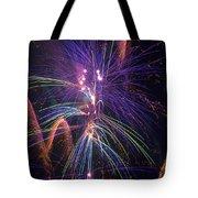 Amazing Beautiful Fireworks Tote Bag
