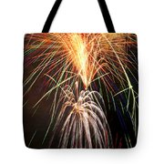 Amazing Fireworks Tote Bag
