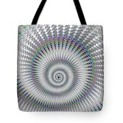 Amazing Fractal Spiral With Great Depth Tote Bag