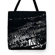 Amazing Rice Terrace In Black And White Tote Bag