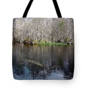 Reflections - On The - Silver River Tote Bag