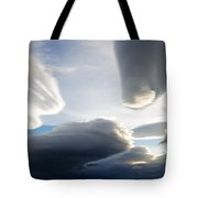 Amazing Skies Over Puerto Natales Chile Tote Bag