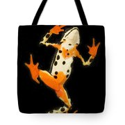 Amazon Harlequin Toad Tote Bag