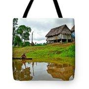 Amazon River Reflections-peru  Tote Bag