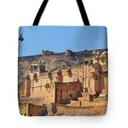 Amber Fort View - Jaipur India Tote Bag
