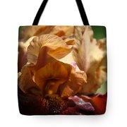 Amber Iris Waves Tote Bag