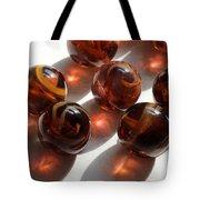 Amber Marbles Tote Bag