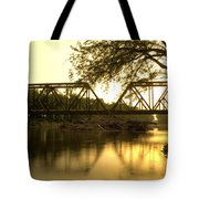 Amber Trestle Tote Bag