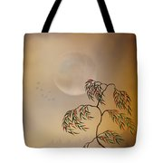 Amber Vision Tote Bag by Bedros Awak