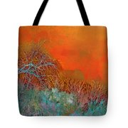 Amber Winter Tote Bag