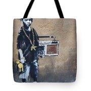 Ambivalence Banksy Tote Bag