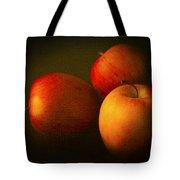 Ambrosia Apples Tote Bag by Theresa Tahara