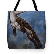 Ambulocetus Natans, An Early Cetacean Tote Bag