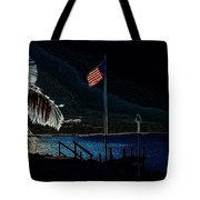 America All The Way 8 Tote Bag