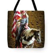 America -- Rodeo-style Tote Bag