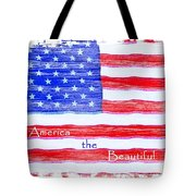 America The Beautiful Tote Bag by Robert ONeil