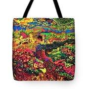 American Abstract Tote Bag